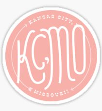 Kansas City Series: Pink Sticker