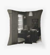 Empty People Throw Pillow
