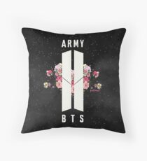 BTS&ARMY: Beyond The Scene (Night Version) Throw Pillow