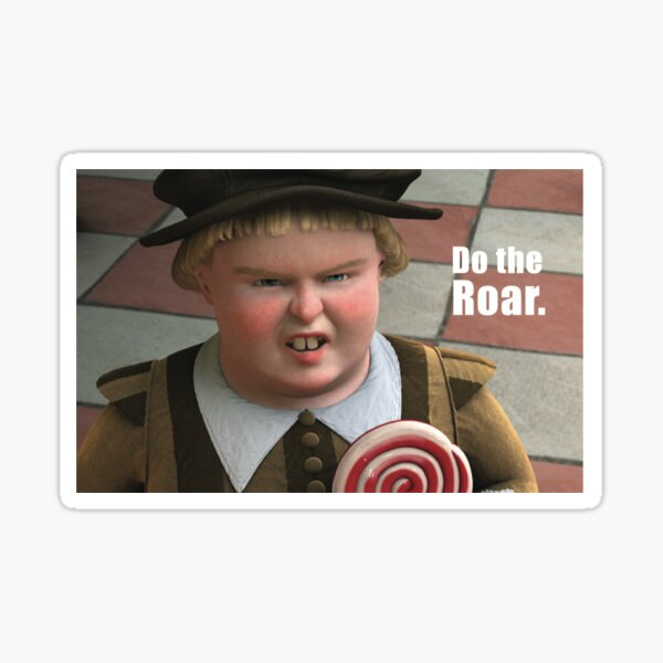 Shrek Do the Roar Sticker