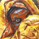 Beautiful African Girl by J-C Saint-Pô