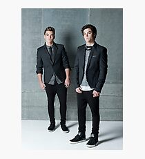 Handsome Dolan Twins Jim Photographic Print