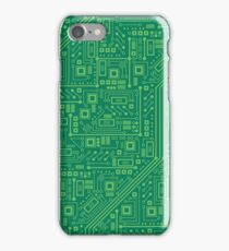 Robot Circuit Board iPhone Case/Skin