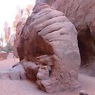 Orange Sand, Arches National Park by PaintnpartyMT