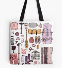 Camping Gear Tote Bag
