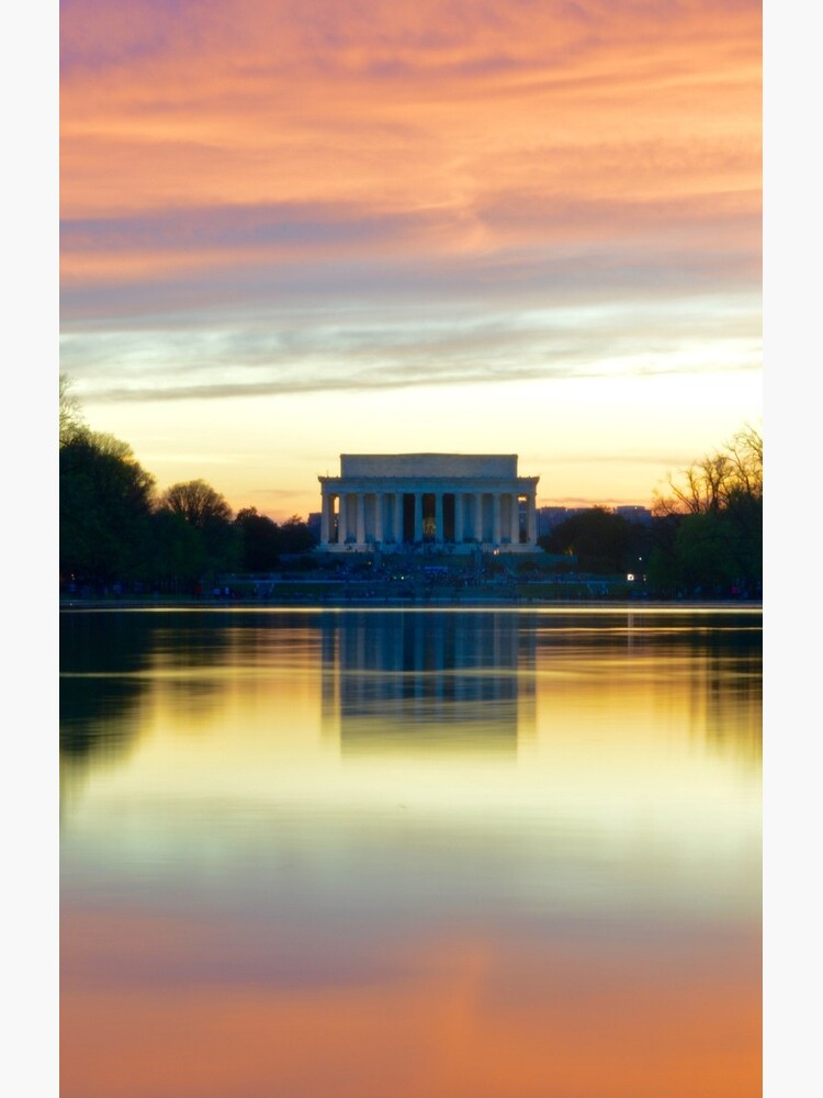 Lincoln Memorial Sunset de juliavindigni