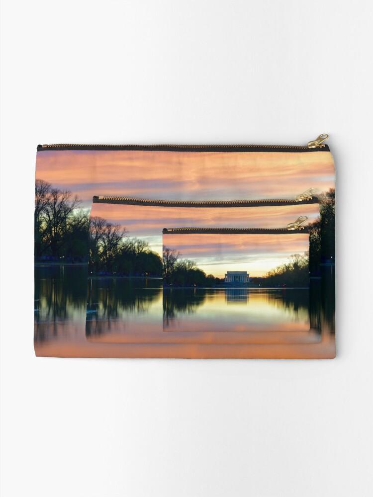 Vista alternativa de Bolsos de mano Lincoln Memorial Sunset