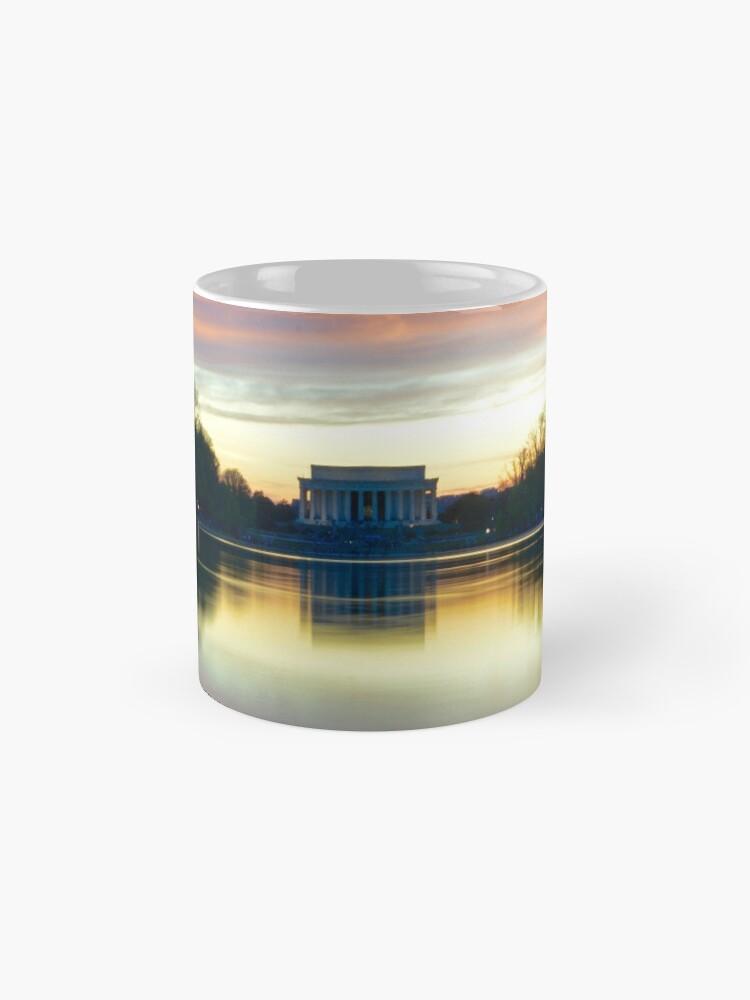 Vista alternativa de Taza Lincoln Memorial Sunset