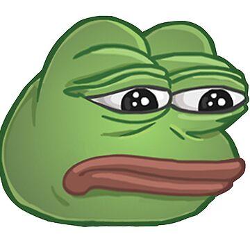 Sad Pepe The Frog (Super Rare) by melowyelowlemon