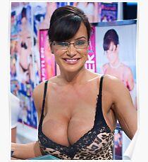 Lisa Ann AVN Awards Expo Love Pillow Poster