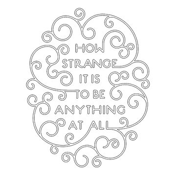 Neutral Milk Hotel - How Strange It Is To Be Anything At All  by GuyBlank