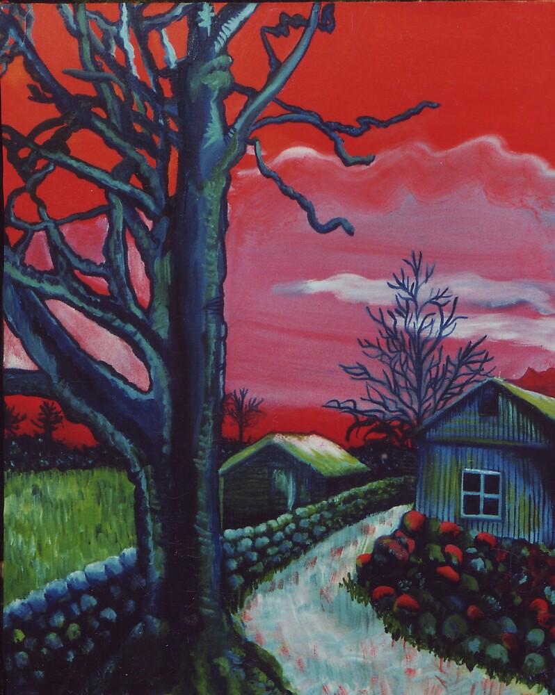 Mystic Grassland by Jill Mattson