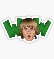 """WOW"" Sticker"