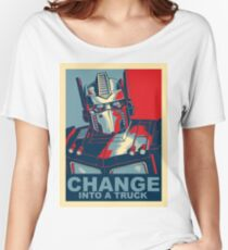 Optimus Prime - Change Women's Relaxed Fit T-Shirt