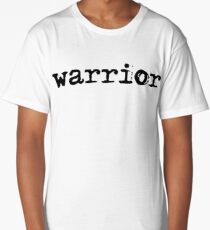 Christian Spiritual Warfare WARRIOR  Long T-Shirt