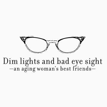 Aging Woman's Eyesight by idoni