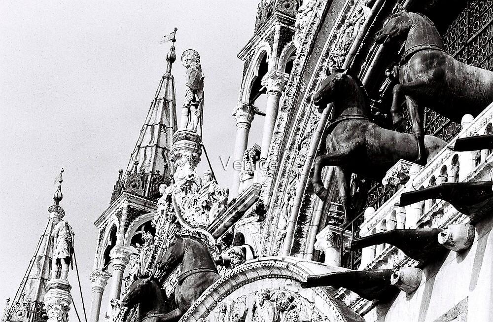 St Mark's horses by Venice