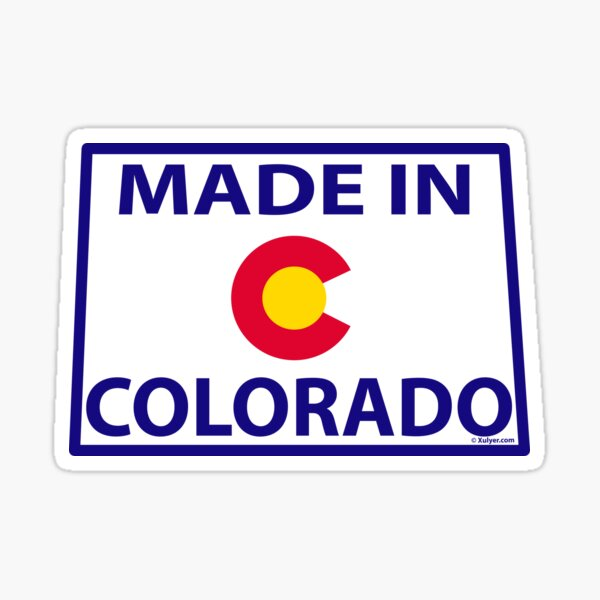 Made in Colorado - Colorado made  Sticker