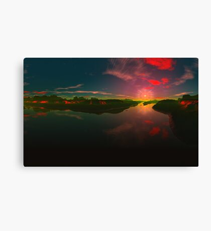 Evening Calls Canvas Print