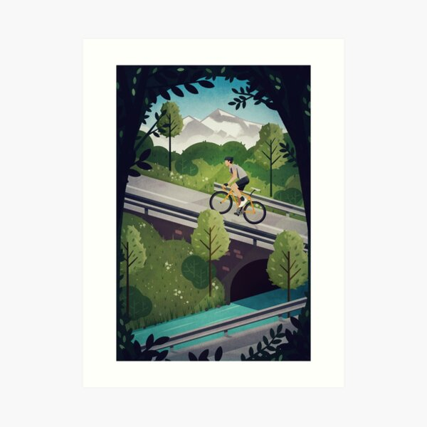 Into the Hills Art Print