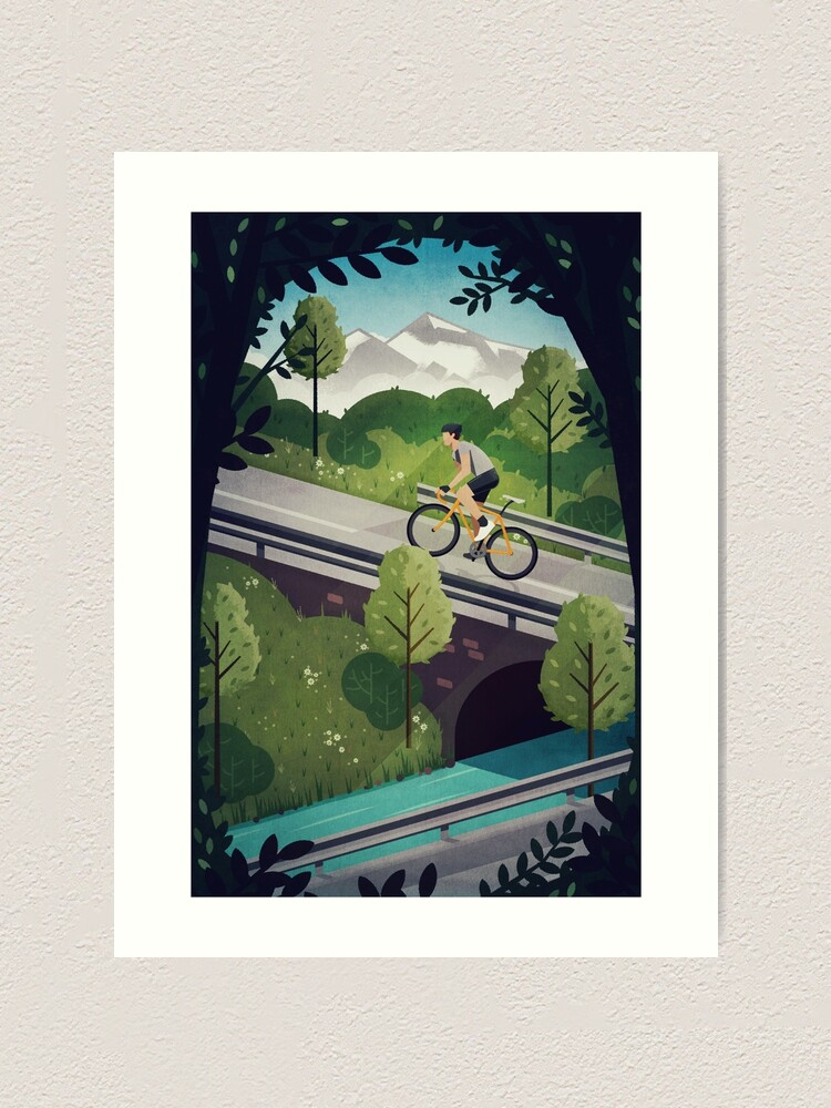 Alternate view of Into the Hills Art Print
