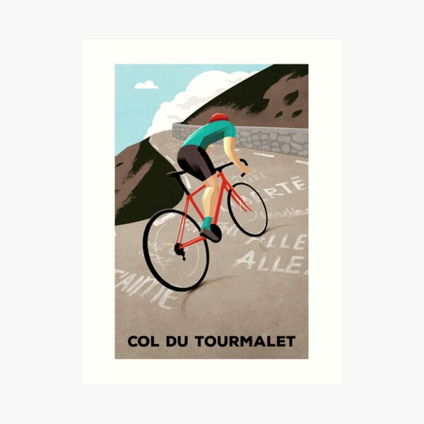 Col Du Tourmalet Art Print