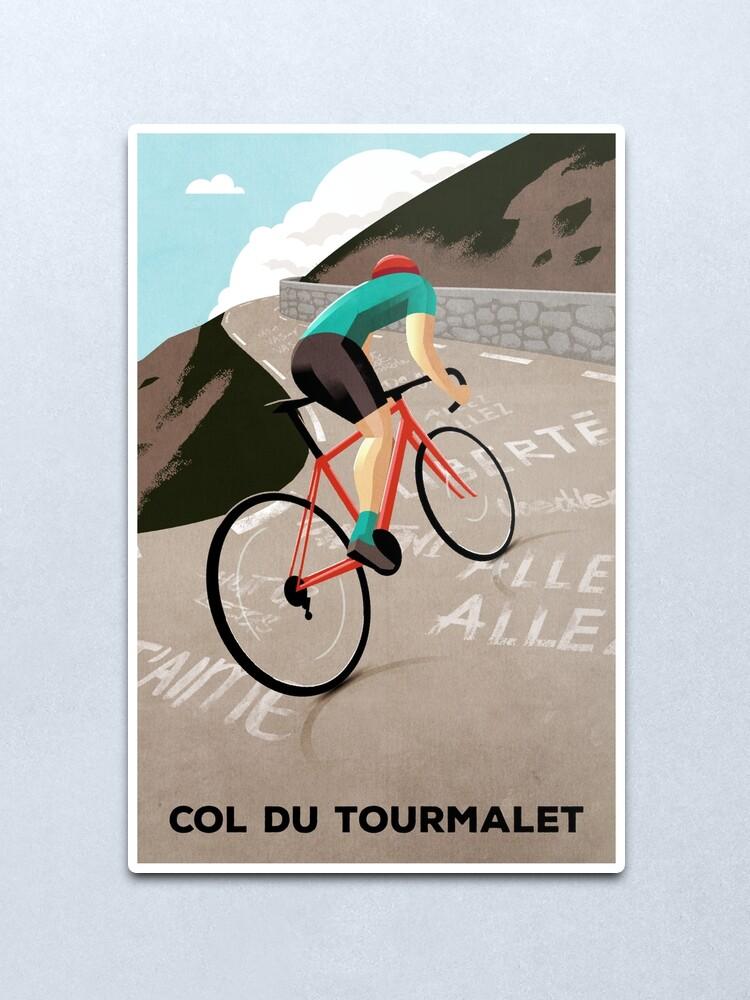 Alternate view of Col Du Tourmalet Metal Print