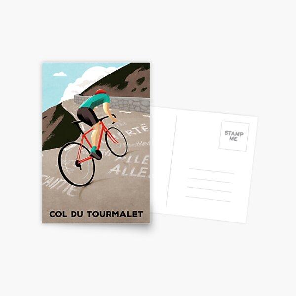 Col Du Tourmalet Postkarte