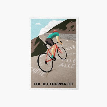 Col Du Tourmalet Art Board Print