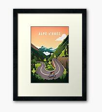Alpe d'Huez Framed Print