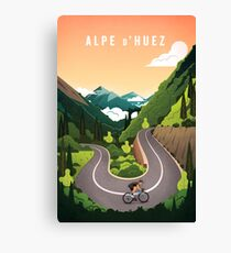 Alpe d'Huez Leinwanddruck