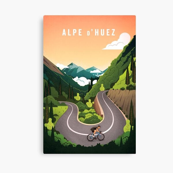Alpe d'Huez Lienzo