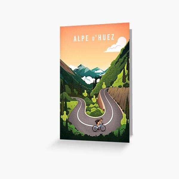 Alpe d'Huez Greeting Card