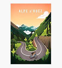 Alpe d'Huez Photographic Print