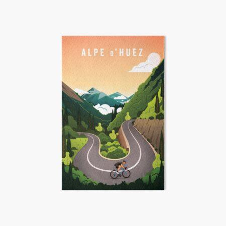 Alpe d'Huez Impression rigide