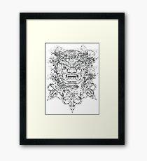 Warrior Spirit Framed Print