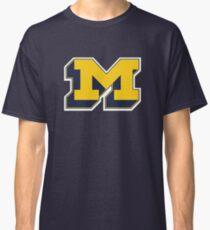 Michigan 3D Block M Classic T-Shirt