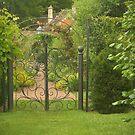 Through the garden gate by Heather Thorsen