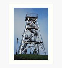 Gold Mining Tower, now viewing tower, Bendigo Art Print