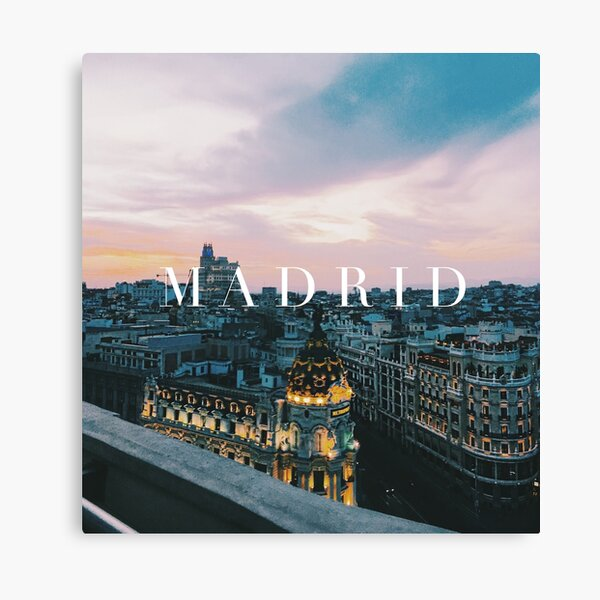 Madrid Canvas Print