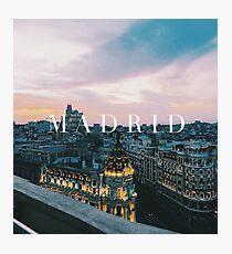 Madrid Fotodruck