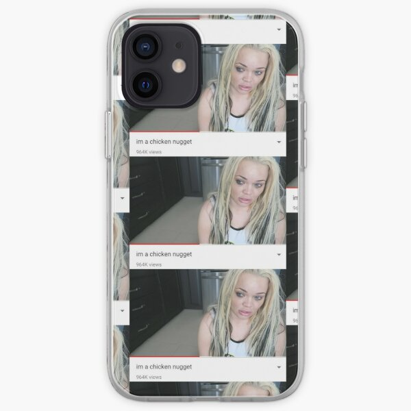 i'm a chicken nugget iPhone Soft Case