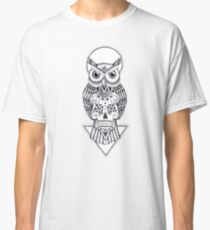 Sugar Skull Owl Classic T-Shirt