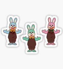 Robbie the Rabbit variants Sticker