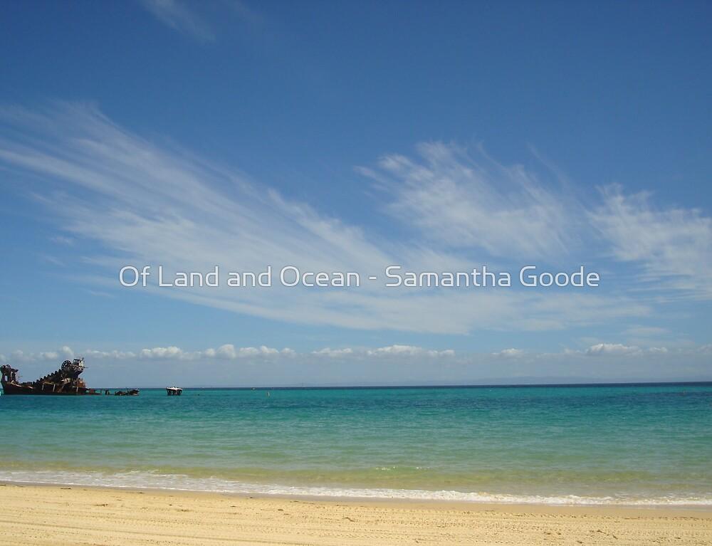 Shipwreck - off the coast of Moreton Island, Queensland, Australia by Of Land & Ocean - Samantha Goode