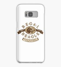 """""""Regal Beagle - Double Entendré"""" - an homage to """"Three's Company"""" Samsung Galaxy Case/Skin"""