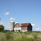Summer Barn by Donna Sherwood