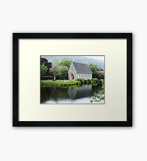 Gougane Barra Reflections Framed Print