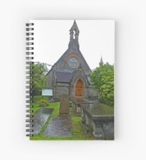 St Augustine's in the Rain Spiral Notebook