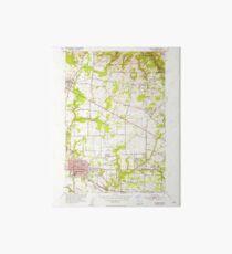 USGS Topo Map Oregon Hillsboro 280209 1954 24000 Art Board